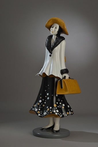 Véronique CLANET - Sculpture-Volume - Petite Célestine 3/8