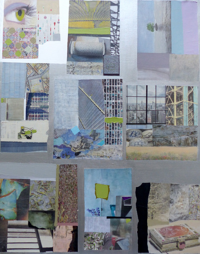 Christine GROSARU-BLETON - Pintura - Collages 2