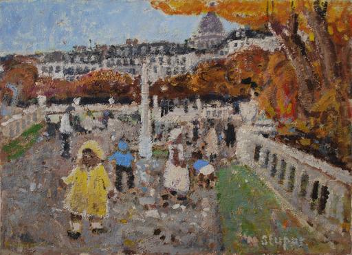 Marko STUPAR - Pittura - Le Jardin du Luxembourg