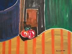 Christian DURIAUD - Peinture - Three fruits