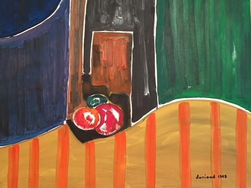 Christian DURIAUD - Pintura - Three fruits