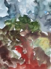 昆特•福格 - 水彩作品 - O.T.