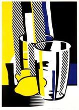 Roy LICHTENSTEIN - Estampe-Multiple - Before the Mirror