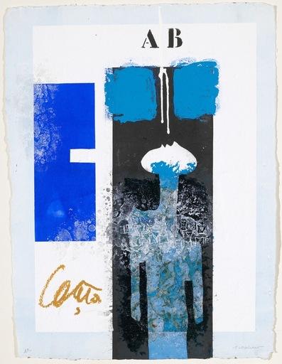 James COIGNARD - Grabado - Mannequin bleu