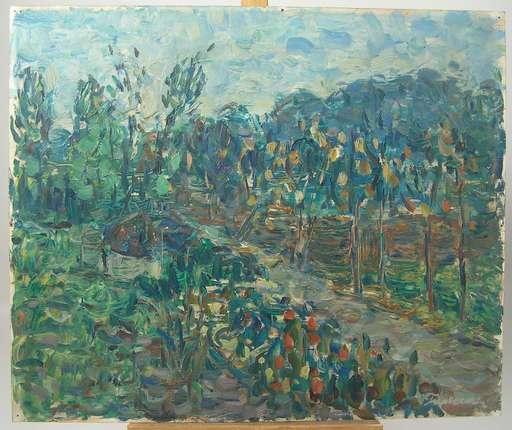 Pieter FRATERMAN - Peinture - Im Garten / In the garden