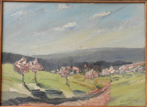 Bertram HARTMAN - 绘画 - Summer Landscape