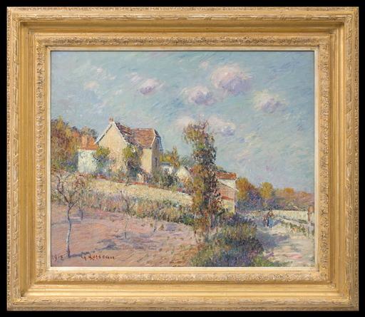 Gustave LOISEAU - Gemälde - Paysage d'Automne (Auvers sur Oise)
