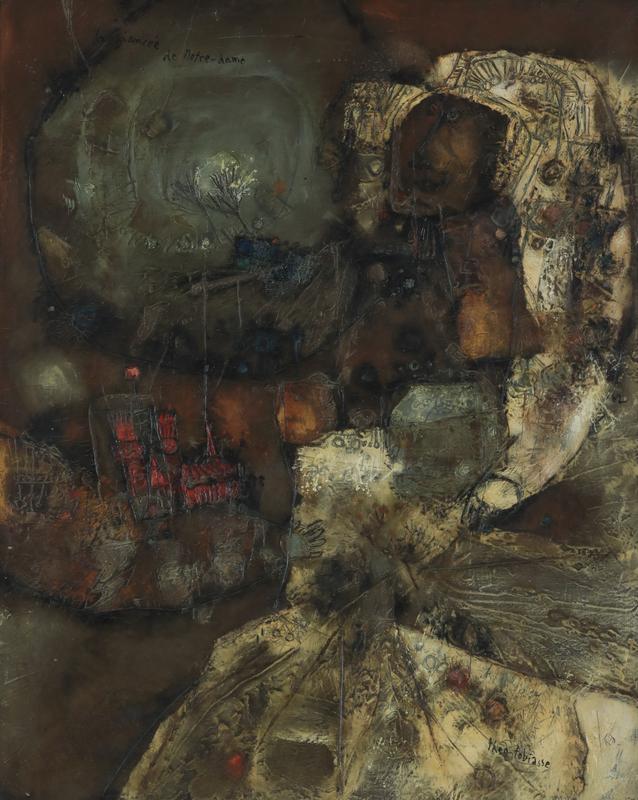 Théo TOBIASSE - Pintura - La Fiancée de Notre Dame