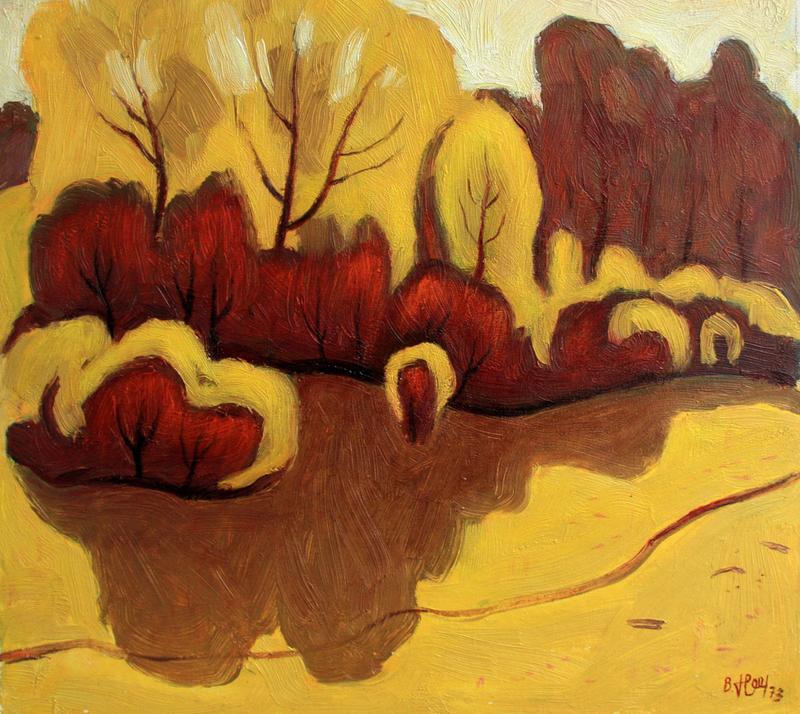 Valeriy NESTEROV - Peinture - Bitsa park. Moscow