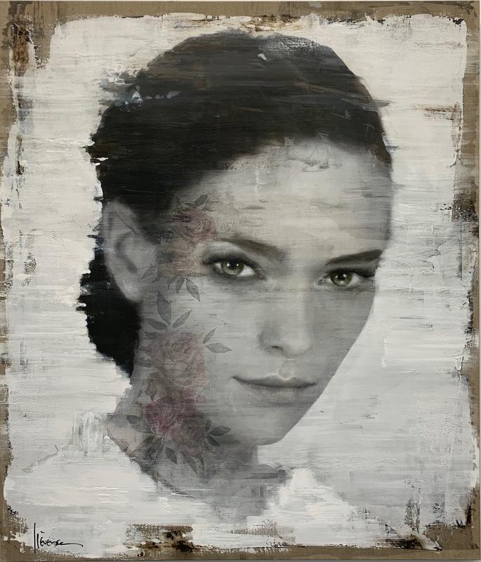 Egbert Lievensz. VAN DER POEL - Painting - Wallflower Lola (edition of 25)