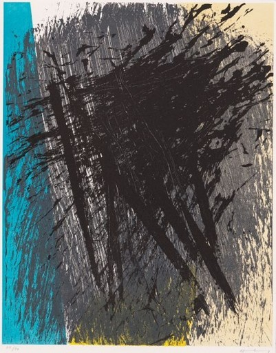 Hans HARTUNG - Stampa Multiplo - Untitled