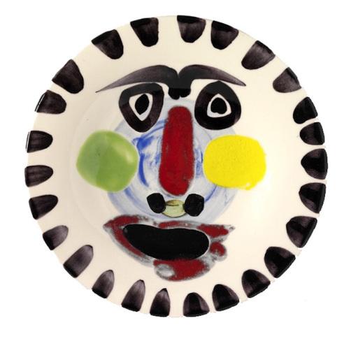 Pablo PICASSO - Ceramiche - Visage n°202