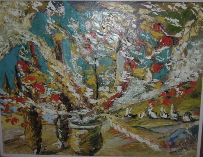 "Luciano DIAZ CASTILLA - Pintura - ""florero"""