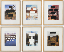 Ed RUSCHA (1937) - Country Cityscapes, Porfolio (six works)