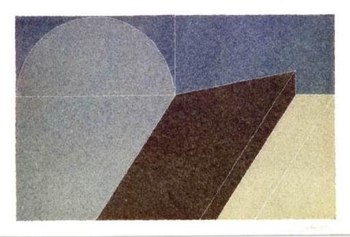 Giuseppe UNCINI - Drawing-Watercolor - Senza titolo