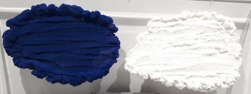 Pino PINELLI - Painting - Bianco e Blu
