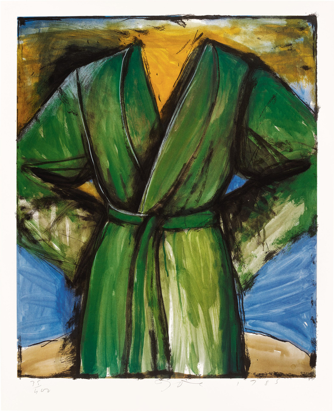 Jim DINE - Stampa-Multiplo - The Mighty Robe 1