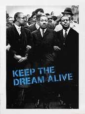 MR BRAINWASH - Estampe-Multiple - Keep the Dream Alive