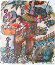 """Théo TOBIASSE (1927-2012) - Poème à trois voix """"Au pied de la montagne"""""""