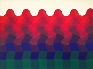 Julio LE PARC - Painting - Ondes