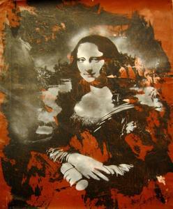 BLEK LE RAT - Painting - MONA LISA