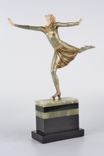 Johann Philipp PREISS - Sculpture-Volume - Ice Skater