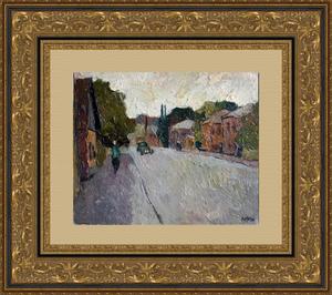 Valeriy NESTEROV - Painting - Bolshaya Androniyevskaya street. Moscow