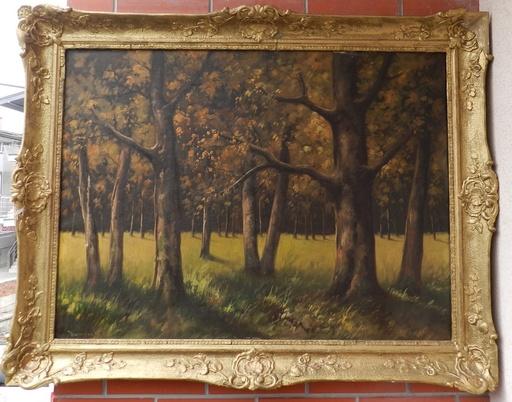 Anton JASUSCH - Painting - Cermelsky les