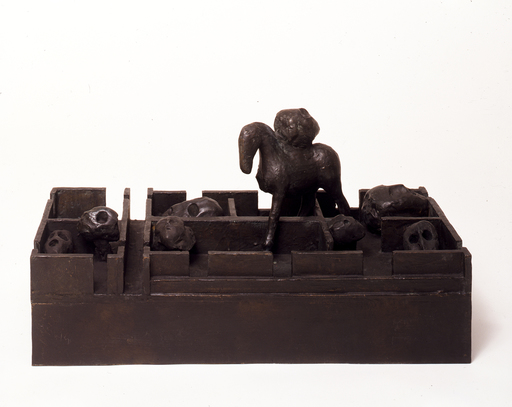 Mimmo PALADINO - Escultura - Labirinto (sculpture)