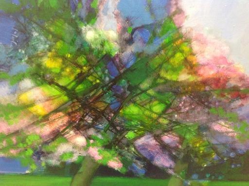 Camille HILAIRE - Painting - Printemps