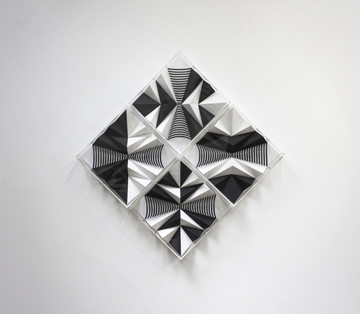 Fabrice AINAUT - Zeichnung Aquarell - Variation autour d'un demi-cône 1