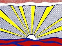 Roy LICHTENSTEIN - Grabado - Sunrise