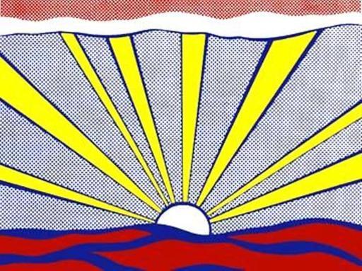 Roy LICHTENSTEIN - Stampa-Multiplo - Sunrise