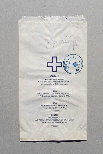 Joseph BEUYS - Stampa-Multiplo - DDR Tüten