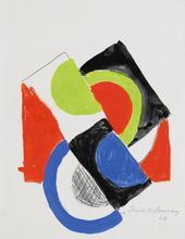 Sonia DELAUNAY-TERK (1885-1979) - Rythme Couleur No. 1253