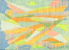 Arnold Eduard NEUWEILER - Dibujo Acuarela - Vers le Soir
