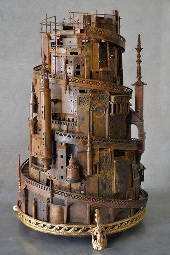 Alain BELLINO - Sculpture-Volume - Babel Tower