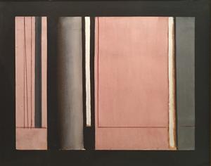 Luc PEIRE - Peinture - Etude pour GERIUM, 1959