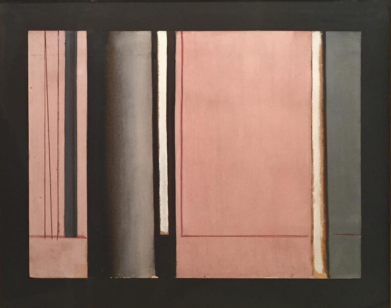 Luc PEIRE - Pintura - Etude pour GERIUM, 1959