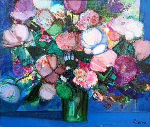 Camille HILAIRE - Peinture - Bouquet du jardin
