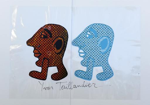 Yvon TAILLANDIER - Druckgrafik-Multiple - Kapitipède Duo 1