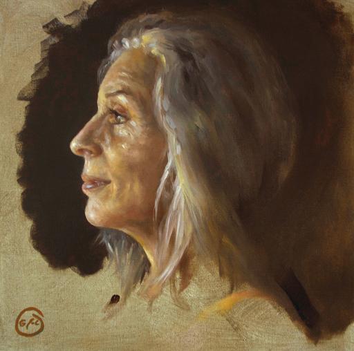 Jean-Christophe GONDOUIN - Peinture - Geneviève