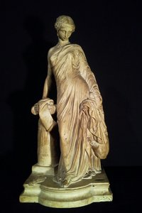 James PRADIER - Sculpture-Volume - Sapho à la colonne