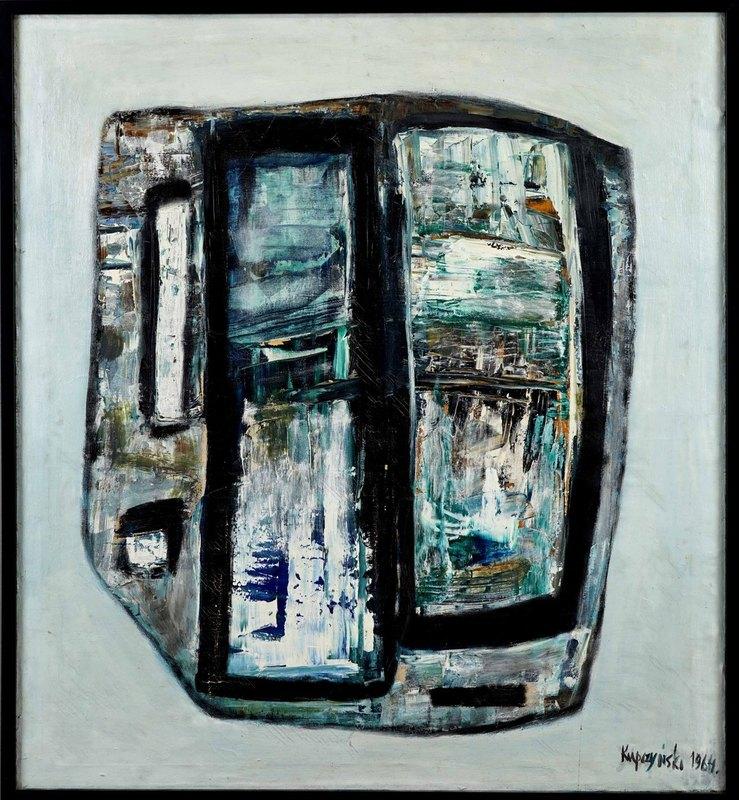 Zbiegniew Stanley KUPCZYNSKI - Gemälde - Composition