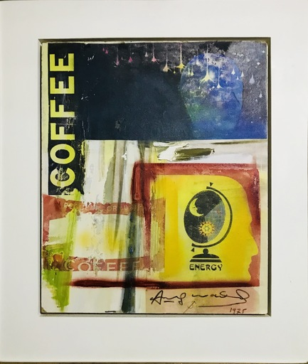 Andy WARHOL - Pittura - « Coffee - Energy
