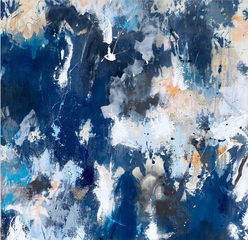 Michelle MARRA - Painting - Singing the Blues II