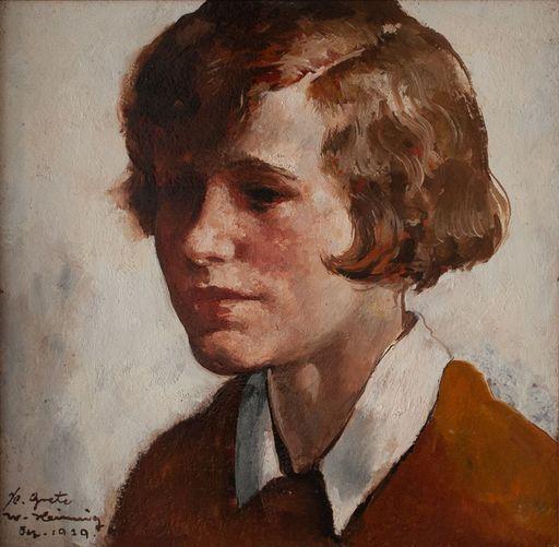 Walter HEIMIG - Painting - Grete