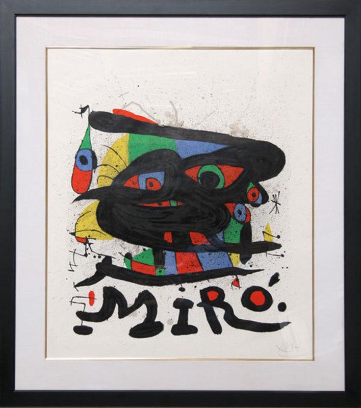 Joan MIRO - Stampa Multiplo - Walker Art Center