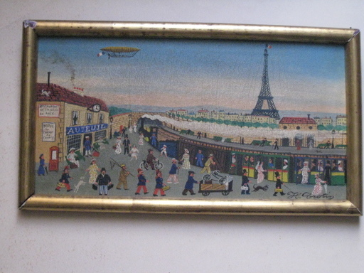 Hector TROTIN - Painting - PARIS GARE D AUTEUIL