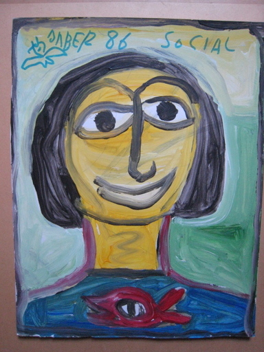 JABER - Pintura - PORTRAIT 19 86